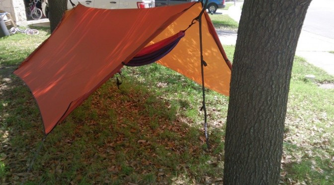 Product Review ENO Housefly Rain Tarp & Geeky Camper | We are nerds that love to camp hike u0026 travel